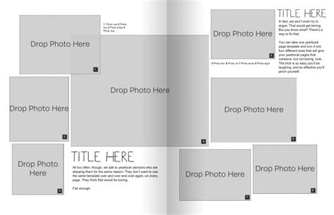 Yearbook Template Powerpoint Brettfranklin Co Blank Yearbook Templates