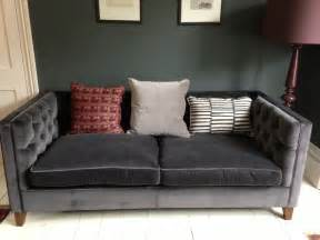 Sofa Sleeper Loveseat Grey Velvet Sofa