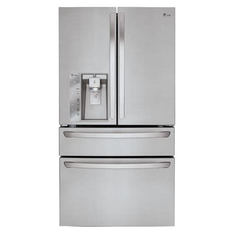 lg appliances refrigerators appliance parts household lg electronics 22 7 cu ft french door refrigerator in
