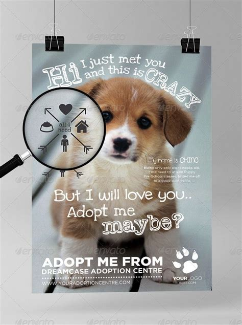 adoption flyer template 01 adoptmemaybe preview i just like flyer