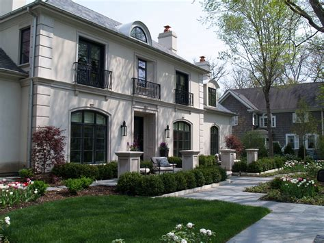 Inspired Stucco Finishes Technique Chicago Traditional