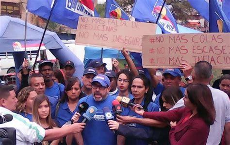 imagenes de venezuela quiere partido opositor quiere combatir crisis de salud en