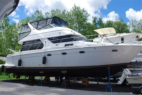 boat deal brokers brewerton ny 2000 carver 450 voyager pilothouse power boat for sale