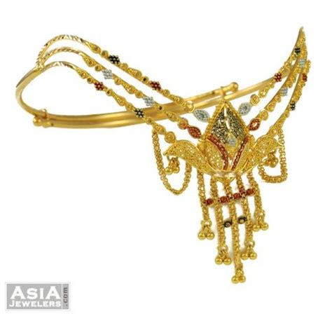 Gold Bajuband indian gold armlet baju band ajbb53662 22k gold indian armlet arm bangle with exclusive