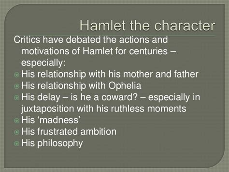 themes of decay in hamlet introduction to hamlet with exercises on act one scenes