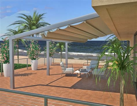 retractable patio cover retractableawnings inc image gallery proview