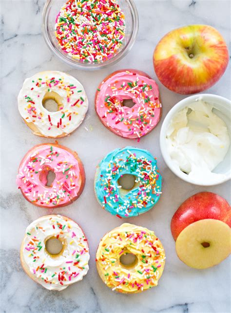 eat the donuts coloring book family friendly edition with motivational quotes books hello wonderful easy apple fruit donuts healthy kid snack