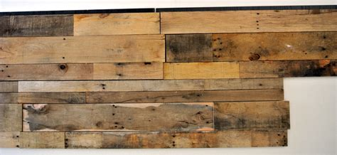 reclaimed wood pallet wall paneling sustainable lumber