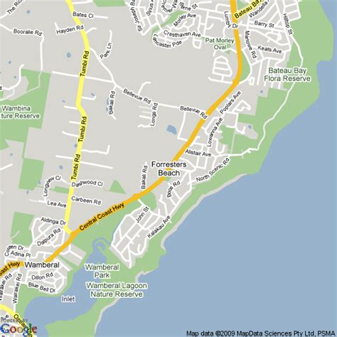 forresters resort map map of forresters nsw hotels accommodation