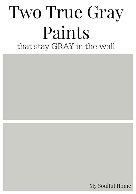 grey wall color two true gray paint colors