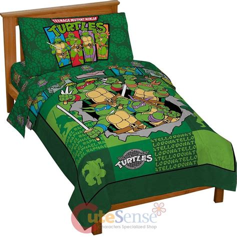 ninja turtle toddler bed tmnt ninja turtles turtle toddler bedding set 4pc