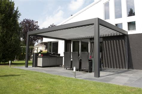 tuin zeil broeikas camargue terrace cover www renson outdoor louvered