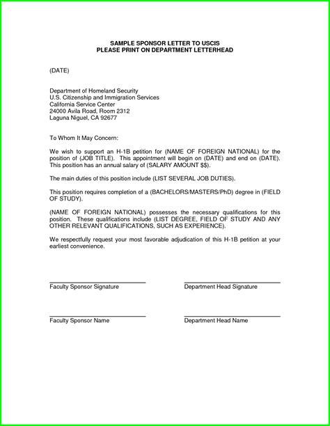 Sample Letter To Uscis Officer   The Best Letter Sample