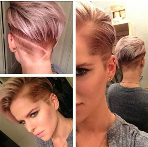 hairstyles side shorter than back short haircut with shaved side haircuts models ideas