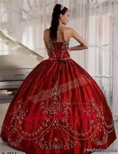red quinceanera dresses 2016 2017 b2b fashion