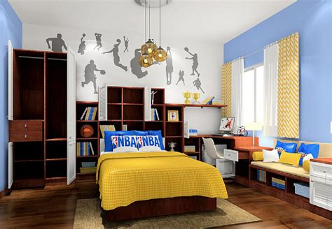 basketball bedroom theme 3d basketball theme bedroom designed for students 3d house