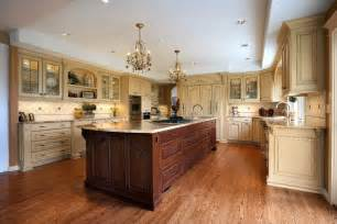 Kitchens With Different Colored Islands Kitchen Island Different Color Than Cabinets Kitchen
