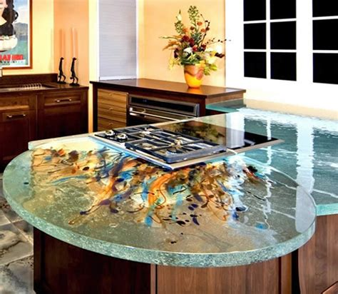 glass recycled counter top new york new glass