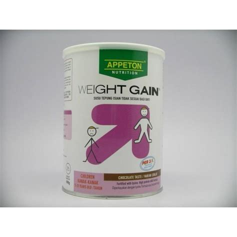 Appeton Weight Gain Di Malaysia by Appeton Weight Gain Child 450gm Cho End 3 6 2019 4 18 Pm