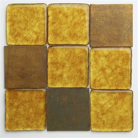 Soleil and Orange Brass Tile Mix   Eco Friendly Flooring