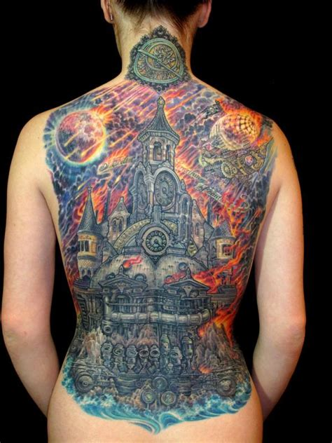 steampunk armageddon by james kern tattoonow