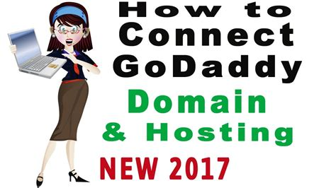 connect godaddy domain  hosting   youtube