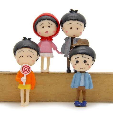 Chibi Maruko Chan Set D Figure Vintage Miniatur anime chibi figures reviews shopping anime chibi figures reviews on aliexpress