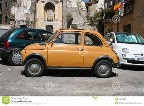 fiat 500 in italy editorial stock image image 25261669