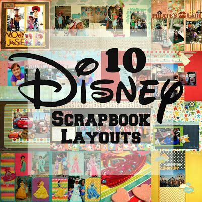 scrapbook layout disneyland ideas 196 best images about disney scrapbook inspiration on