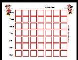 free potty training charts popular characters