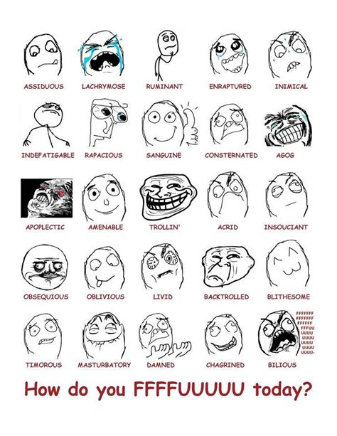 Meme Faces Explained - internet meme stickers sticky addiction