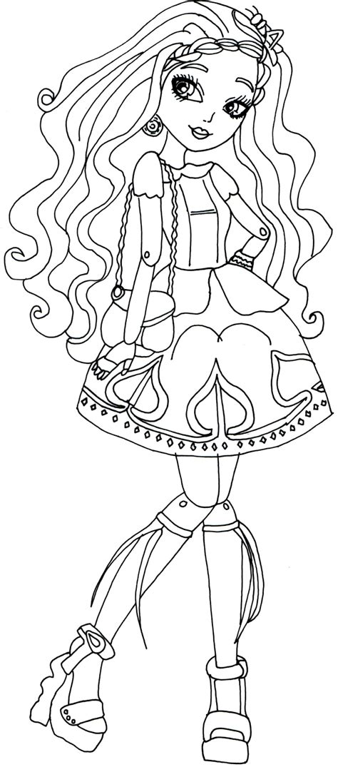 ever after monster high coloring pages free printable ever after high coloring pages cedar wood