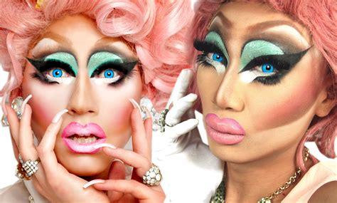 Detox Trixie Mattell by Rupaul S Drag Race Makeup Tutorial Makeup