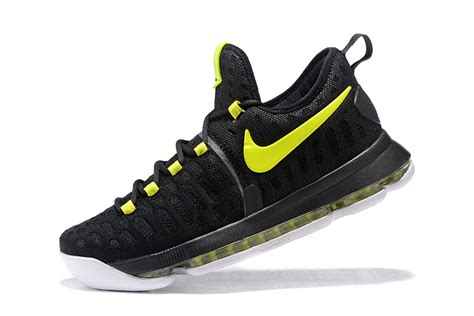 nike basketball shoes cheap cheap nike kd 9 black neon green mens basketball shoes for