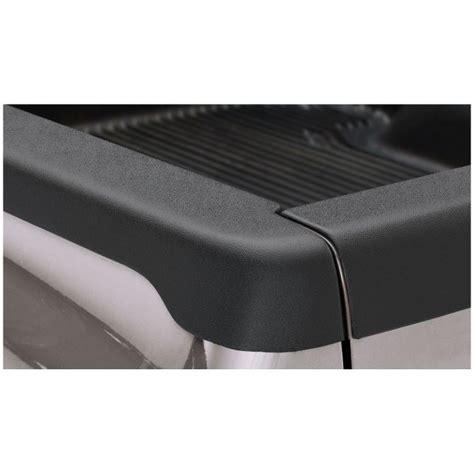 new bushwacker bed rail cap set of 2 black ram truck dodge