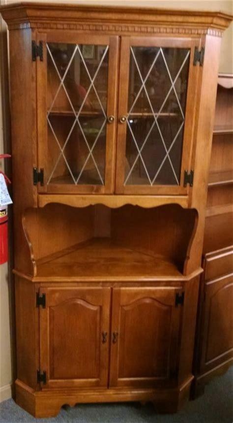 ethan allen corner cabinet delmarva furniture