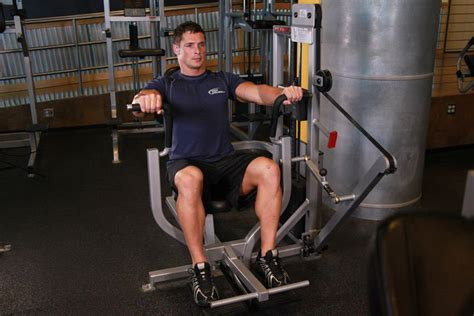 single fulcrum bench machine bench press exercise guide and video