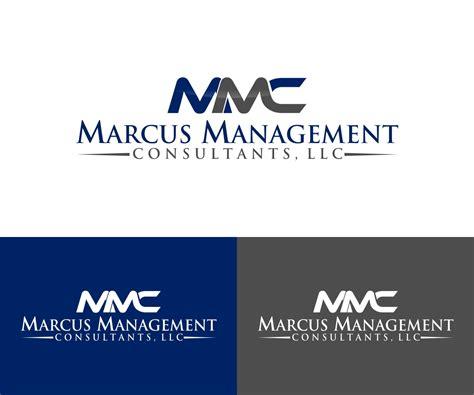 design management consultants it company logo design for marcus management consultants