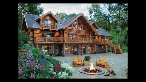 Wood Cabin Floor Plans minnesota log homes lakeplace com youtube