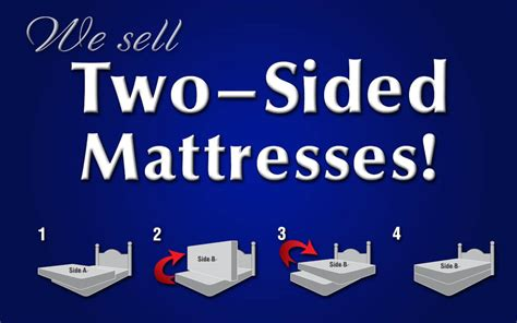 Two Mattresses - top ten problems with two sided mattresses