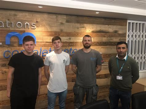 bm installations sees double  apprenticeship pair hire east midlands business news