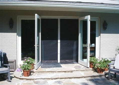 Retractable Screen Door For Sliding Glass Door Inswing Outswing And Sliding Glass Doors These Phantom Retractable Screens Allow You To Open