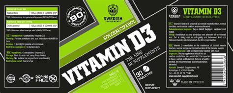 vitamin d creatine vitamin d3 swedish supplements kosttillskott produkter