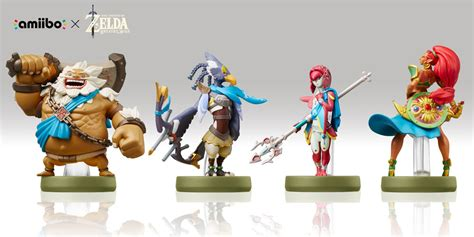 Amiibo Daruk The Legend Of Breath Of The amiibo urbosa revali mipha daruk the legend of breath of the mania