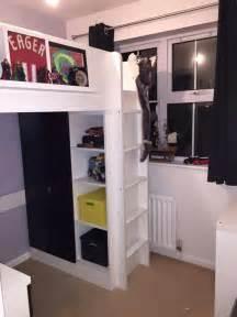 tiny box room ikea stuva loft bed the most of