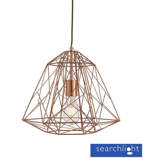 Classic Bathroom Designs searchlight geometric cage frame pendant ceiling light