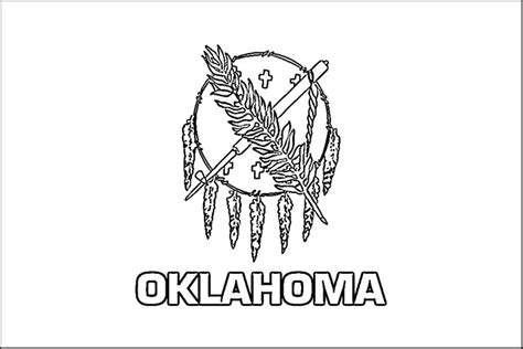 4 best images of oklahoma state flag printable oklahoma