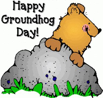 groundhog day just put that anywhere my view by silvio canto jr happy groundhog day 2017