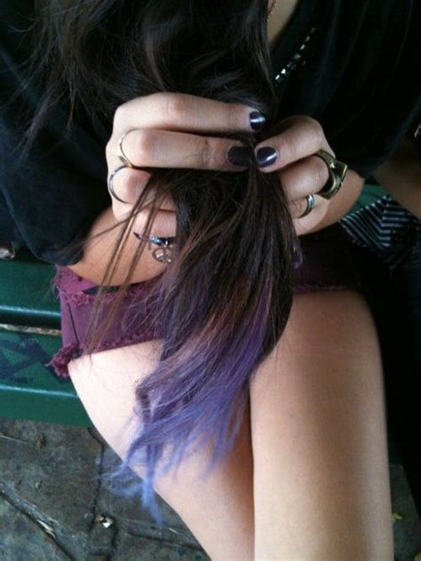 hairstyles with dyed ends 30 best dyed hair images on pinterest colourful hair
