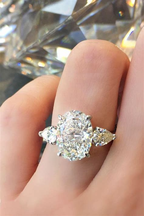 Best 25  Three stone rings ideas on Pinterest   Three